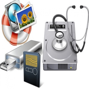 Recover data from USB stick or CD/DVD